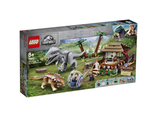 LEGO Jurassic World Indominus Rex contro Ankylosaurus - 75941