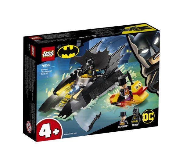 LEGO DC Comics Super Heroes All'inseguimento del Pinguino con la Bat-barca! - 76158 DC COMICS, DC Comics Super Heroes