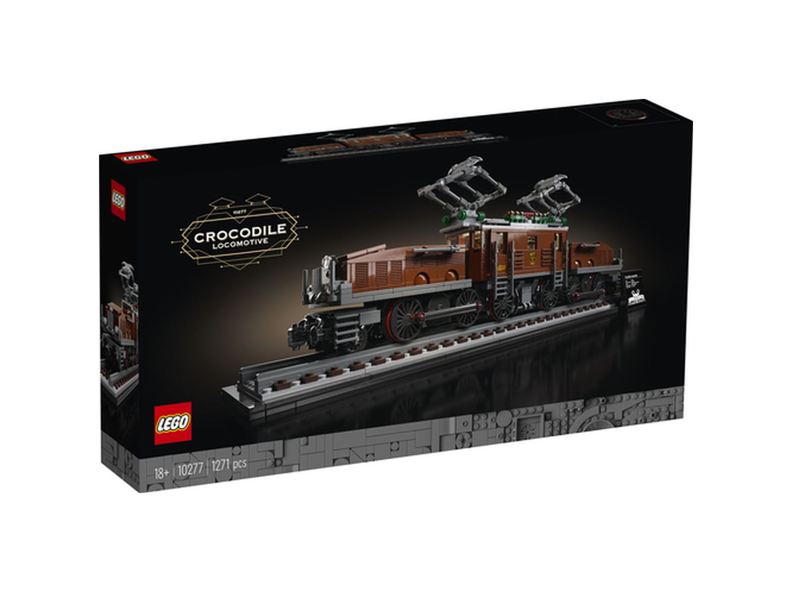 Lego creator expert locomotiva coccodrillo - 10277 - Creator Expert