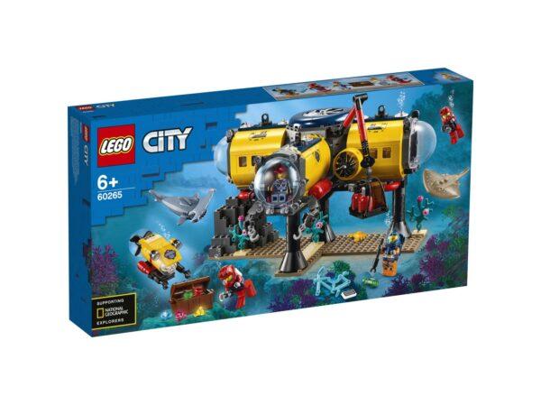 LEGO City Base per esplorazioni oceaniche - 60265 LEGO CITY
