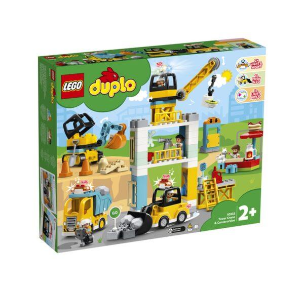 LEGO DUPLO Cantiere edile con gru a torre - 10933 LEGO DUPLO