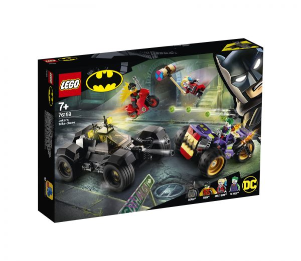 LEGO DC Comics Super Heroes All'inseguimento del tre-ruote di Joker - 76159 DC COMICS, DC Comics Super Heroes
