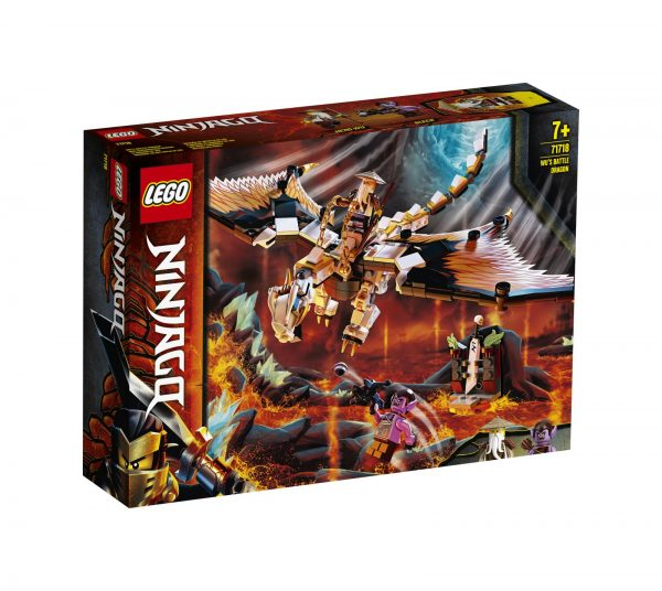LEGO NINJAGO Dragone da battaglia di Wu - 71718 LEGO NINJAGO