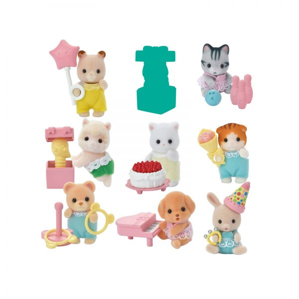 SYLVANIAN FAMILIES - BUSTINE BABY SERIE PARTY