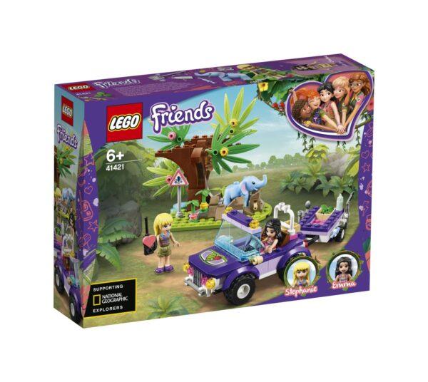 LEGO Friends Salvataggio nella giungla dell'elefantino - 41421 LEGO FRIENDS