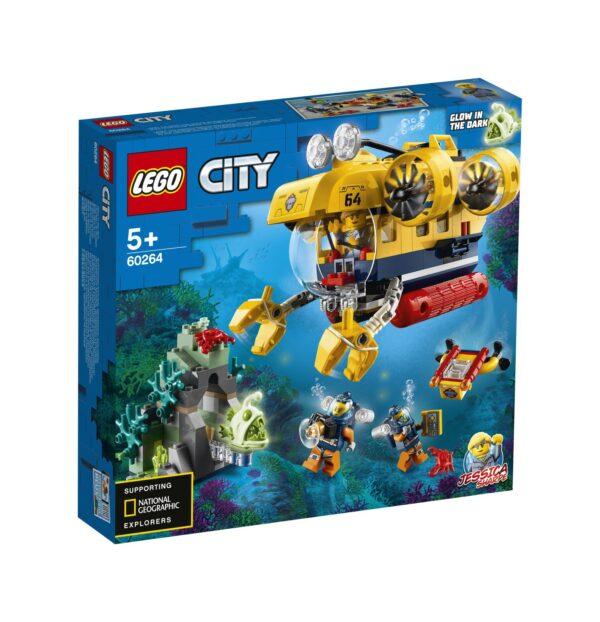 LEGO City Sottomarino da esplorazione oceanica - 60264 LEGO CITY