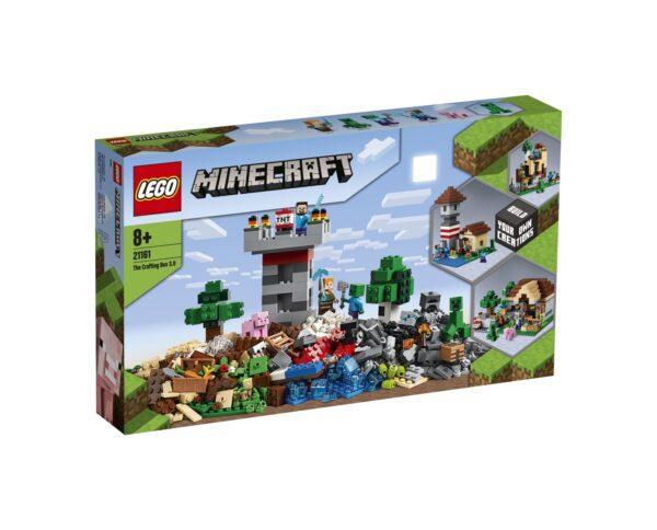 LEGO Minecraft Crafting Box 3.0 - 21161