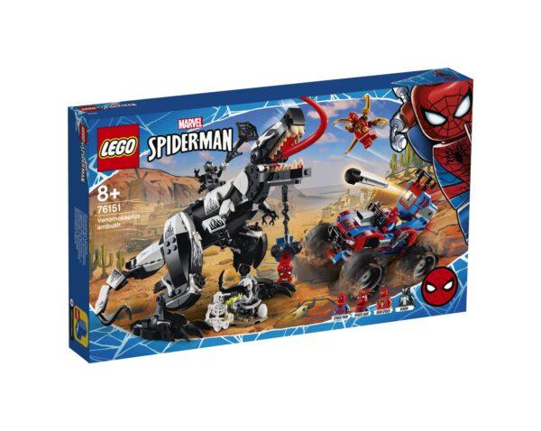 LEGO Marvel Super Heroes L'agguato del venomsauro - 76151