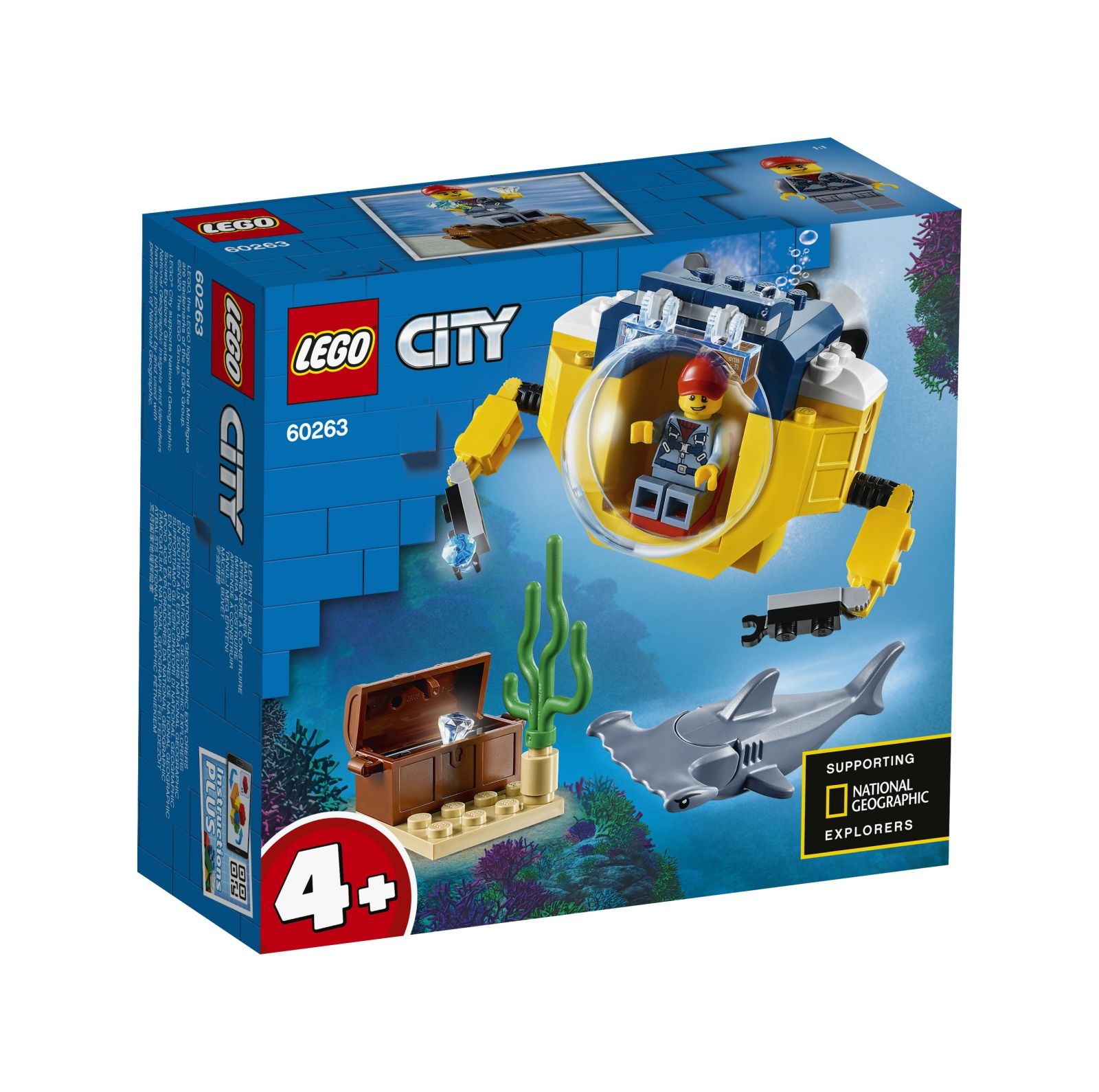 Lego city minisottomarino oceanico - 60263 - LEGO CITY