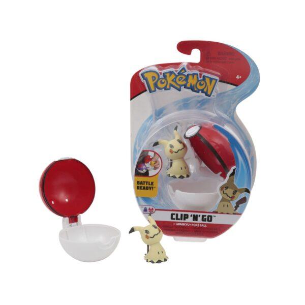 Pokemon Clip 'N Go CON PERSONAGGIO ass.3