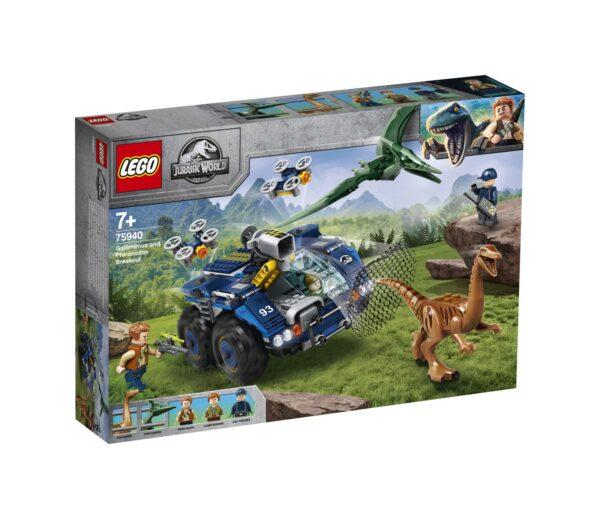 LEGO Jurassic World Evasione di Gallimimus e Pteranodonte - 75940
