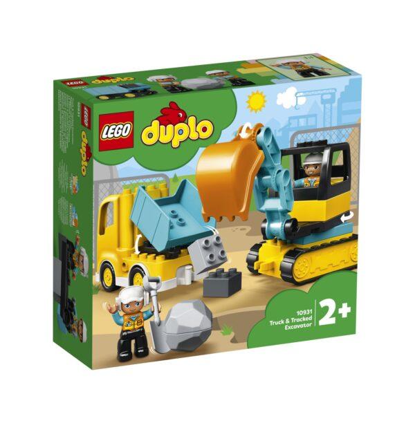 LEGO DUPLO Camion e scavatrice cingolata - 10931 LEGO DUPLO