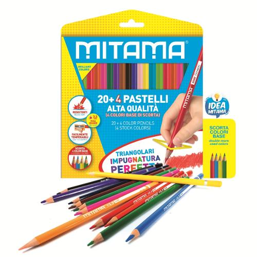 Pastelli Mitama Triangolari pz. 24