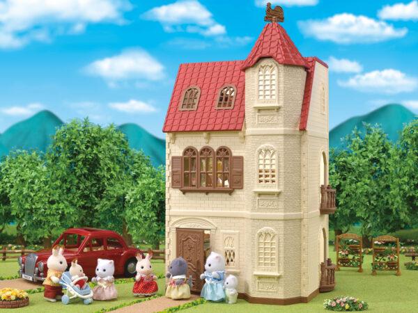 Torre dal tetto rosso