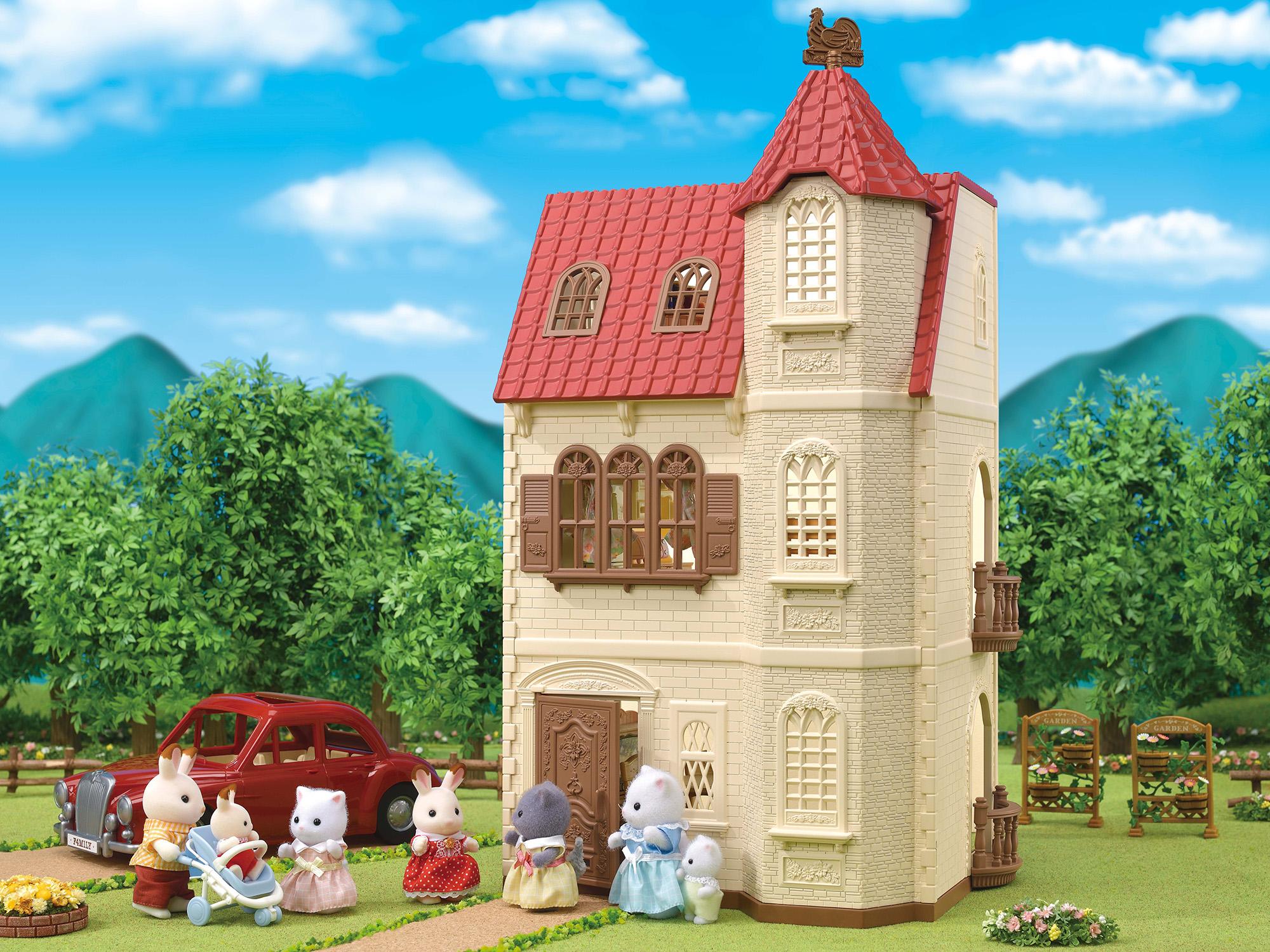 Torre dal tetto rosso -