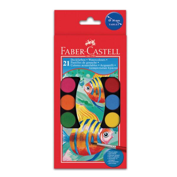 Acquerellli godets 3 cm- 21 colori ALTRO Unisex 5-8 Anni ALTRI