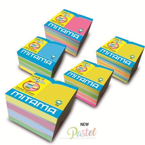 Cubo fogli adesivi Mitama