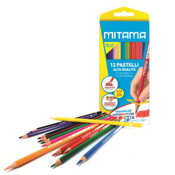 Pastelli Mitama Triangolari pz. 12