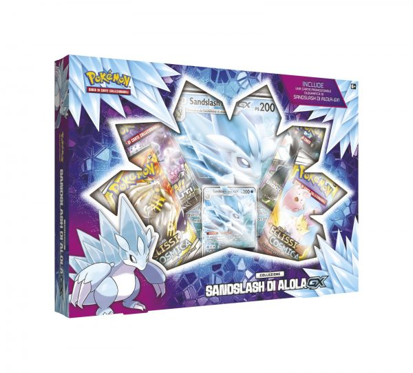Pokemon Sandslash di Alola-GX Box (IT)