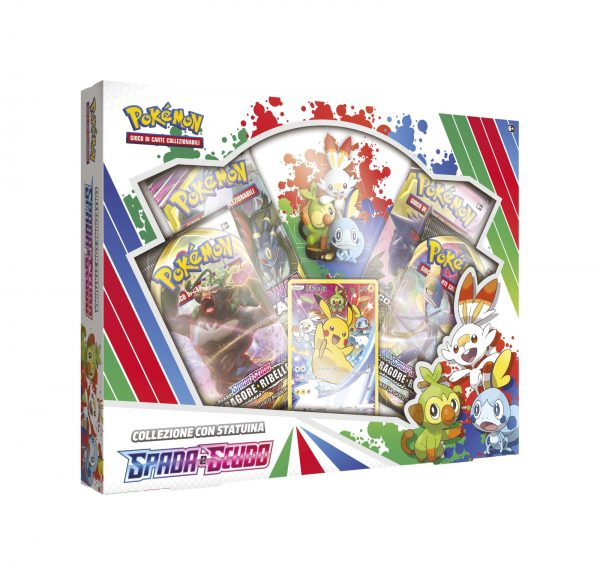 Pokemon Spada e Scudo Starter Figure Box (IT)