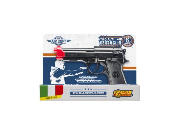 Pistola Parabellum cal. 6 mm. ALTRI Unisex 12+ Anni ALTRO