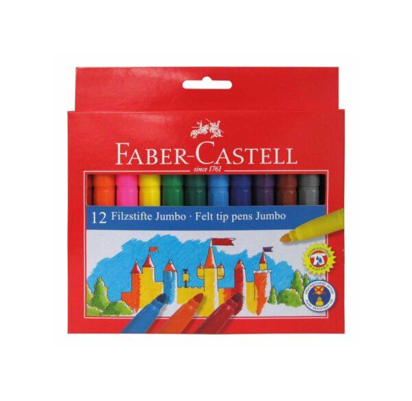 Pennarelli Castello a punta jumbo 12 colori ALTRI Unisex 3-4 Anni, 3-5 Anni, 5-7 Anni, 8-12 Anni ALTRO