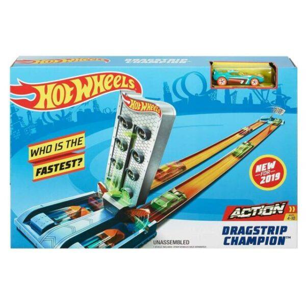 Hot Wheels Piste Action Playset, Assortimento