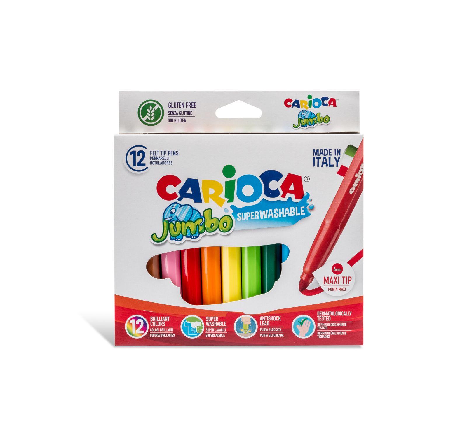 Carioca jumbo box 12 pcs - CARIOCA