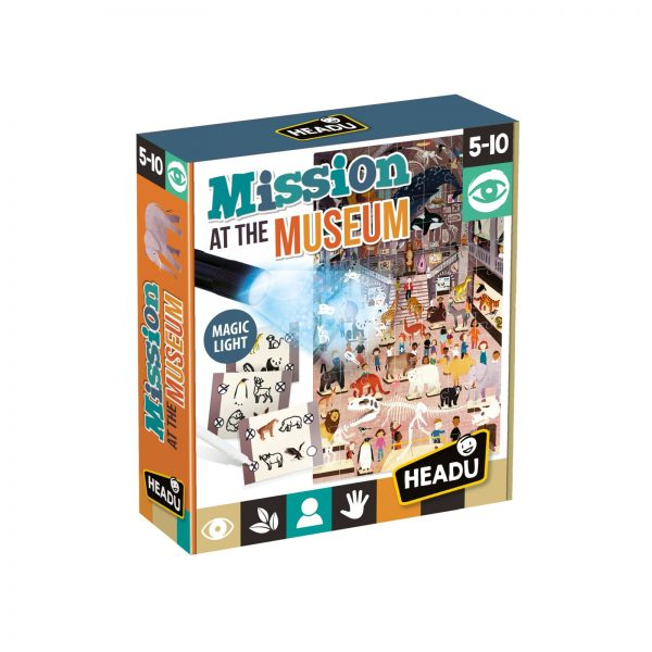 Mission at the Museum