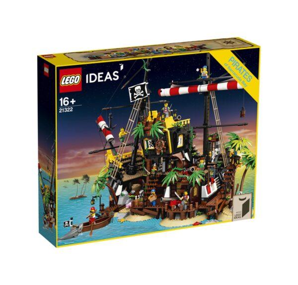 LEGO Ideas I pirati di Barracuda Bay - 21322 Ideas