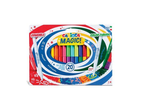 CARIOCA MAGIC Markers 20 pcs CARIOCA