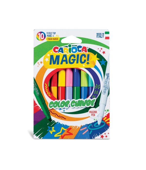 CARIOCA MAGIC Color CHANGE 10 pcs CARIOCA