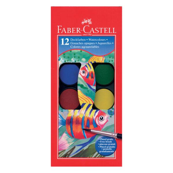 Acquerellli godets 3 cm- 12 colori ALTRO Unisex 5-8 Anni ALTRI