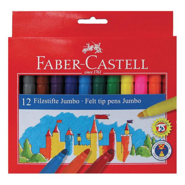 Pennarelli Castello a punta jumbo 12 colori ALTRO Unisex 3-4 Anni, 3-5 Anni, 5-7 Anni, 8-12 Anni ALTRI