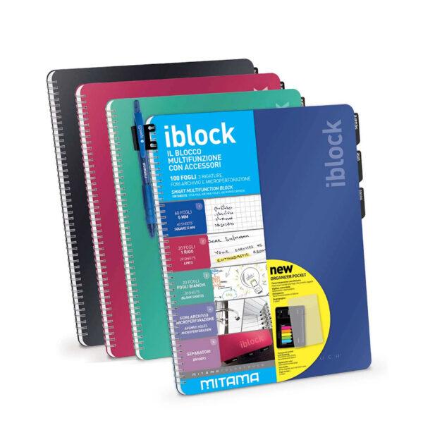 I block Mitama - Blocco multifunzione 3 rigature