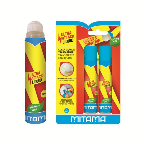 Colla Liquida Stick It Mitama 50 ml. Pz.2