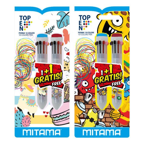 Penna Mitama Top Ten - 10 Colori