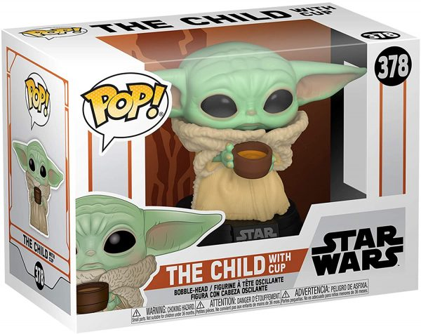 FUNKO POP Star Wars:Mandalorian- The Child con minestrina