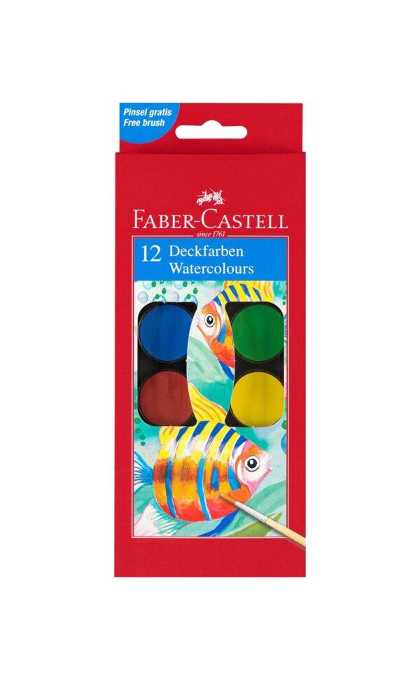 Acquerellli godets 3 cm- 12 colori ALTRI Unisex 5-8 Anni ALTRO