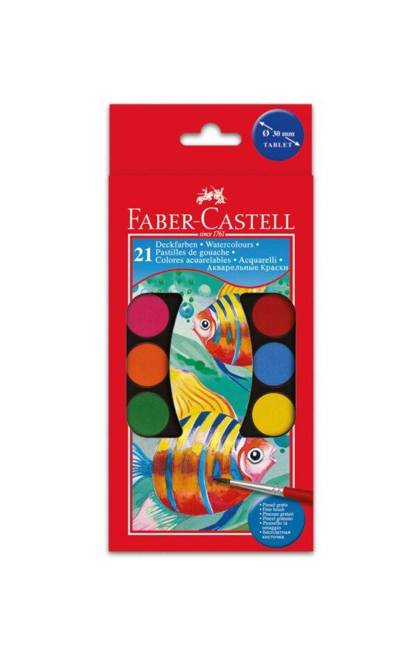 Acquerellli godets 3 cm- 21 colori ALTRI Unisex 5-8 Anni ALTRO