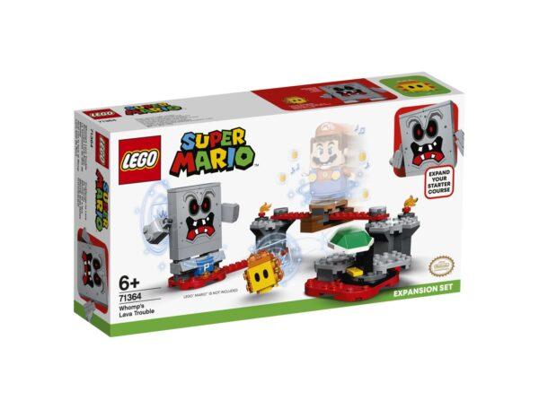 LEGO Super Mario Guai con la lava di Womp - Pack di Espansione - 71364 Super Mario