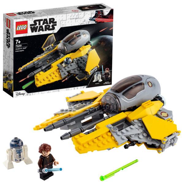 Star Wars   LEGO Star Wars Jedi Interceptor di Anakin - 75281