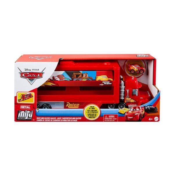 Disney Cars- Minis Trasportatore con Veicolo    Disney Pixar Cars
