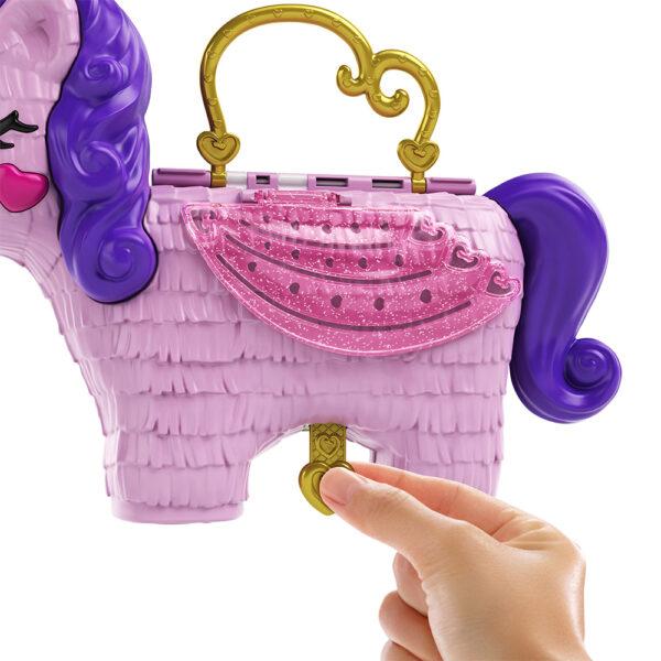 Polly Pocket- Unicorno Magiche Sorprese Playset con Micro Bambole Polly e Lila, Accessori    Polly Pocket