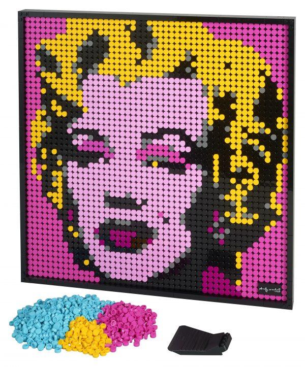 ART LEGO ART Andy Warhol's Marilyn Monroe - 31197