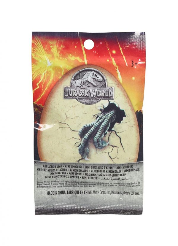 Jurassic World- Jurassic Park Mini Dinosauri, Modelli Assortiti, 1 Pezzo    Jurassic World