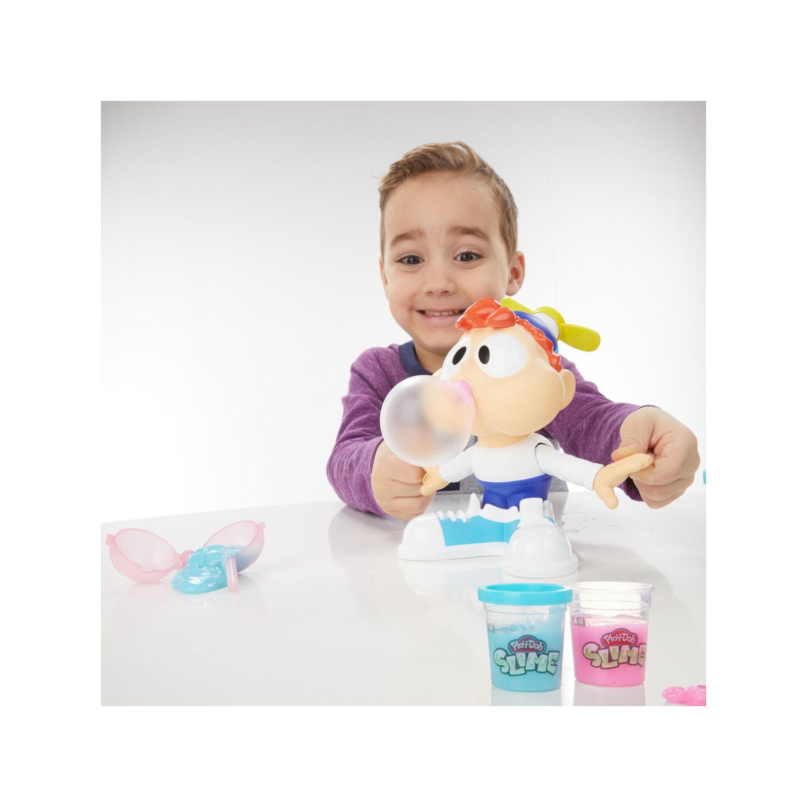 Play-doh - charlie masticone (playset con 2 vasetti rosa e blu di composto play-doh slime) -