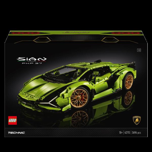 LEGO TECHNIC, TECHNIC  LEGO Technic Lamborghini Sián FKP 37 - 42115