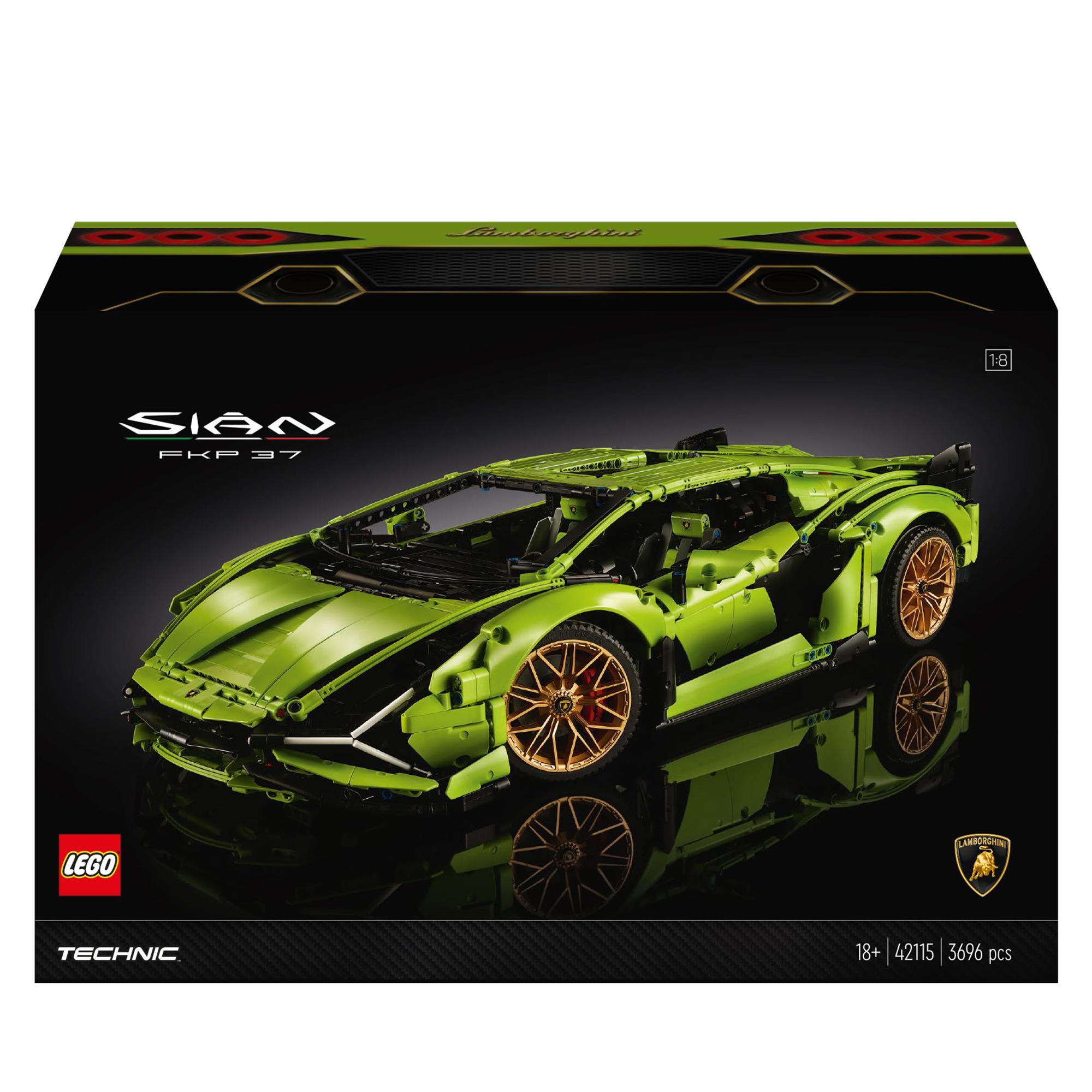 Lego technic lamborghini sián fkp 37 - 42115 - LEGO TECHNIC, TECHNIC