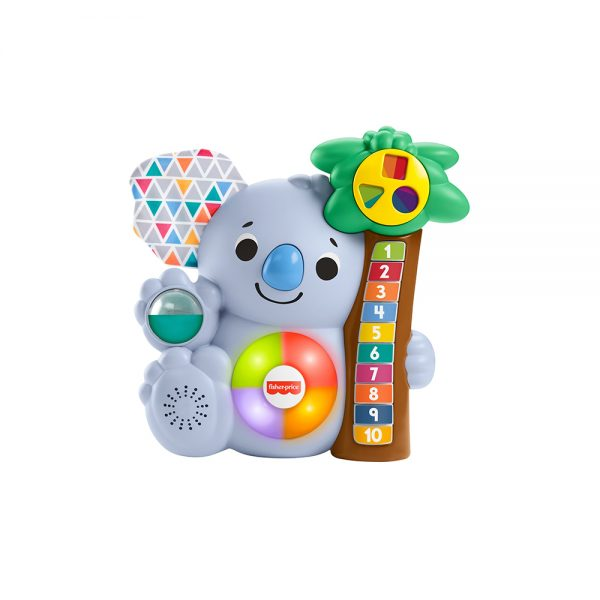 ​Fisher-Price,i Parlamici Baby Koala 123, Giocattolo Educativo Musicale FISHER-PRICE